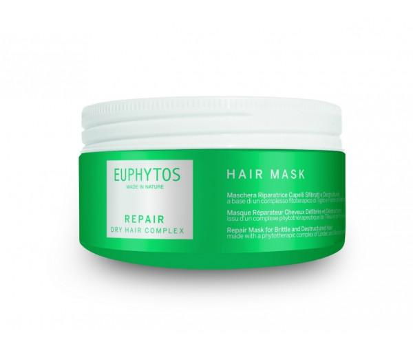 EUPHYTOS Восстанавливающая маска для ломких и поврежденных волос Repair