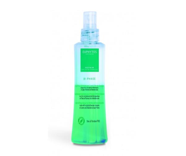 EUPHYTOS Двухфазный спрей для ломких и поврежденных волос