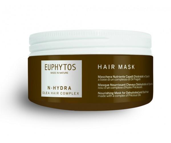 """EUPHYTOS Увлажняющая питающая маска для обезвоженных и тусклых волос """"N-HYDRA"""""""