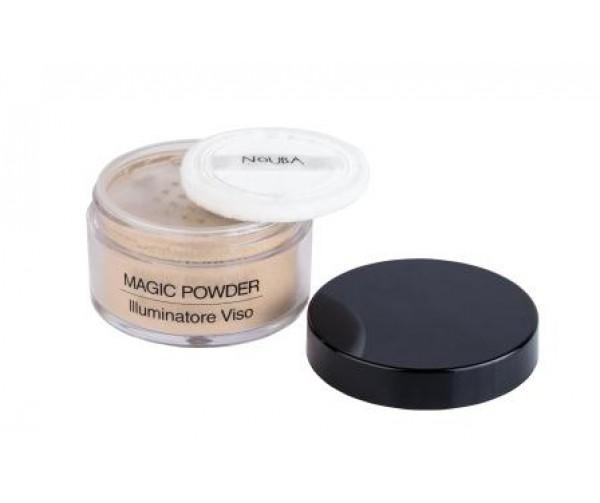 NoUBA Пудра для лица и тела c эффектом сияния Magic Powder