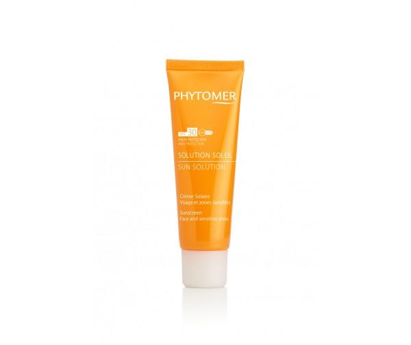 Phytomer Солнцезащитный крем для лица и чувствительных зон Sun Solution Sunscreen SPF 30 Face and Body