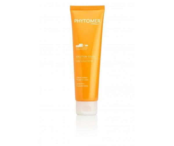 Phytomer Увлажняющий солнцезащитный крем для лица и тела Sun Sollution Sunscreen SPF15 Face and Body