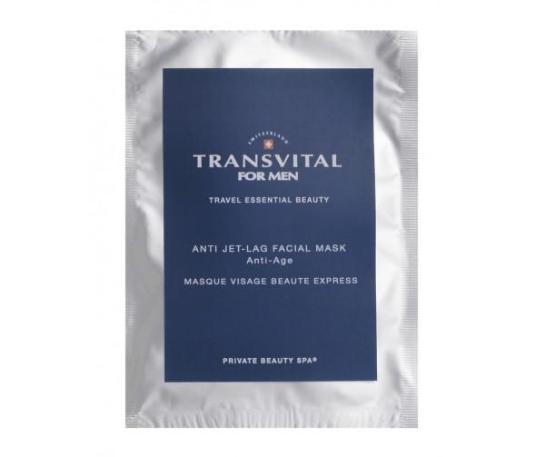 Transvital Омолаживающая матирующая анти-стресс маска для мужчин Anti Jet- Lag Facial Mask