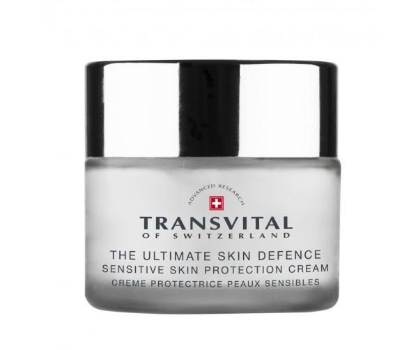 Transvital Анти-возрастной крем для защиты чувствительной кожи SPF 15 Sensitive cream protection cream SPF 15